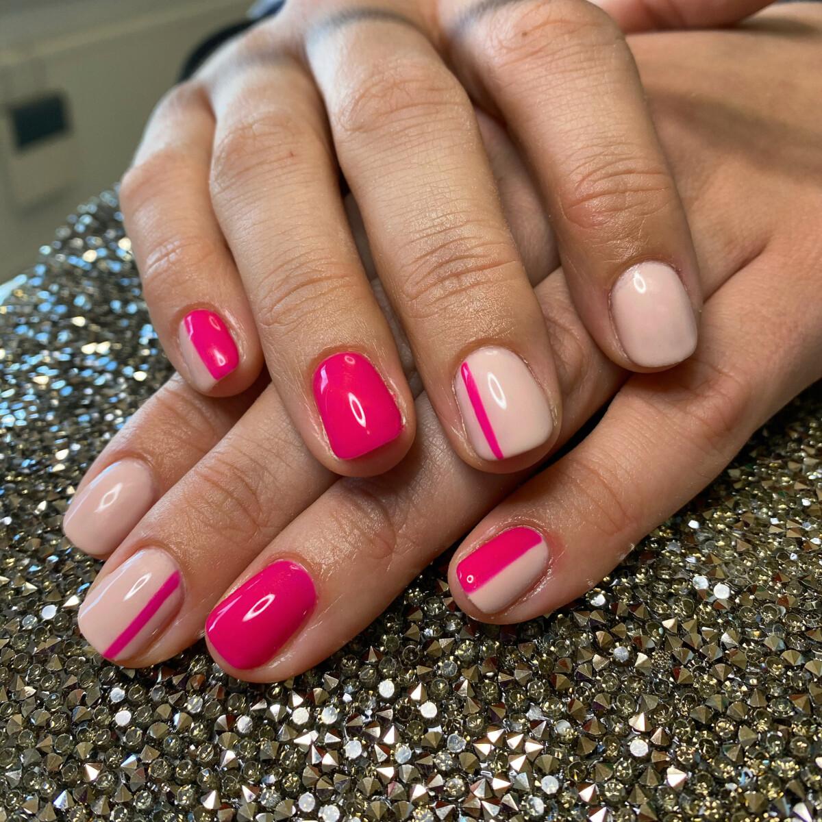 Manicure extra + nail art minimalistic
