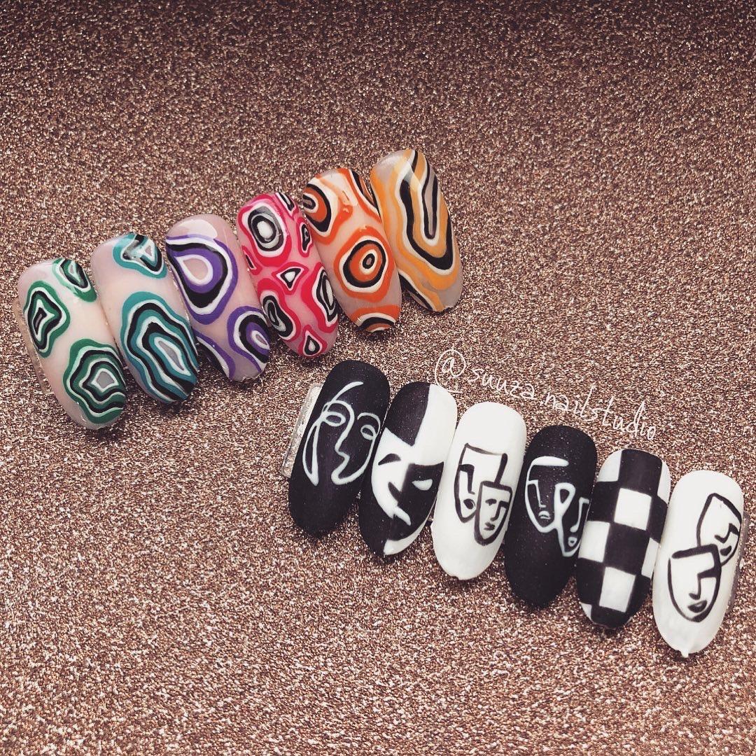 Nail art samples