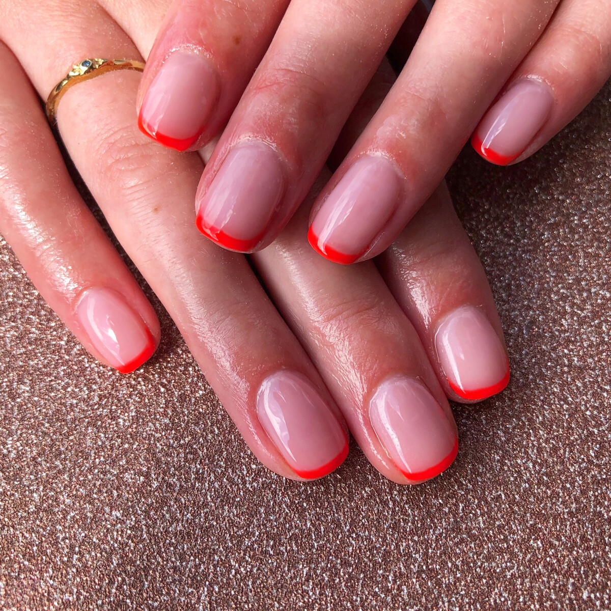Manicure deluxe (french NEON)