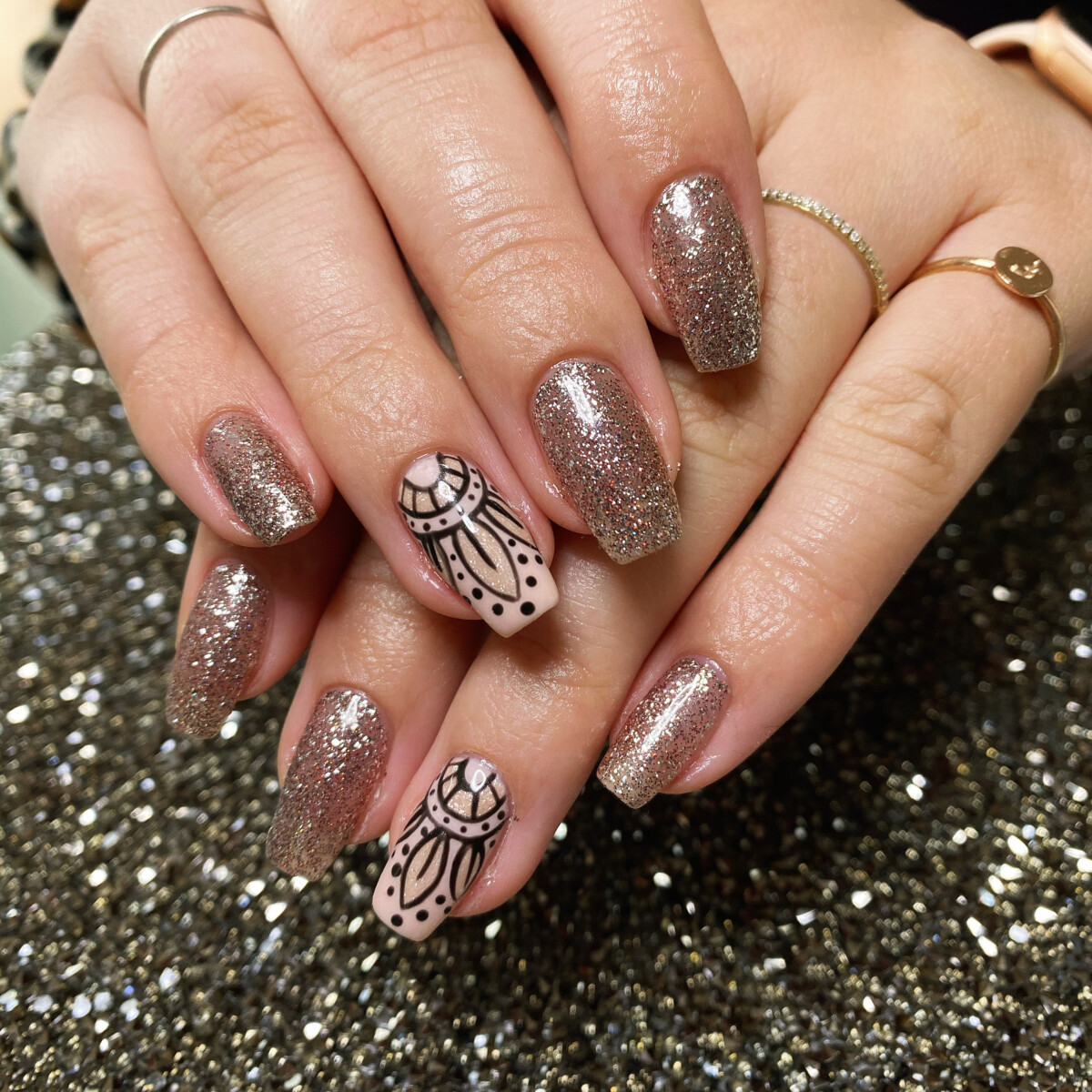 Manicure extra + nail art premium